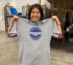 AA Stews branded T Shirt